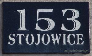 Numer domu w granicie