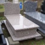 Nagrobek granitowy - Brąz Królewski