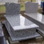 Nagrobek granitowy - Żbik Szary